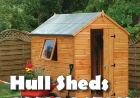 garden sheds in hull